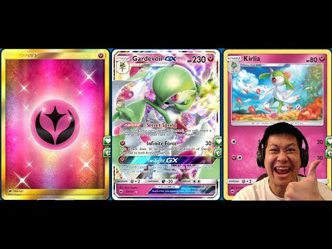 New GARDEVOIR GX DECK, Powerful 1 Hit Scaling DMG, Reliable
