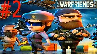 Онлайн война  Мульт  боевик WAR FRIENDS #2 Онлайн битва Ранги Большой выбор солдат и оружия