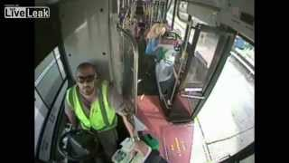 Bus driver credited with saving collapsed woman from dying