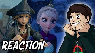 REACTION a Pirati dei Caraibi e Frozen in KH3! *EAR RAPE*