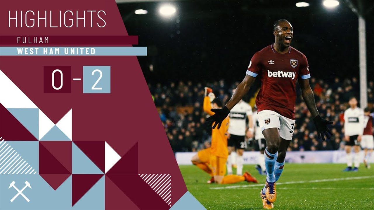 HIGHLIGHTS | FULHAM 0 WEST HAM UNITED 2 | SNODGRASS & ANTONIO WITH THE GOALS