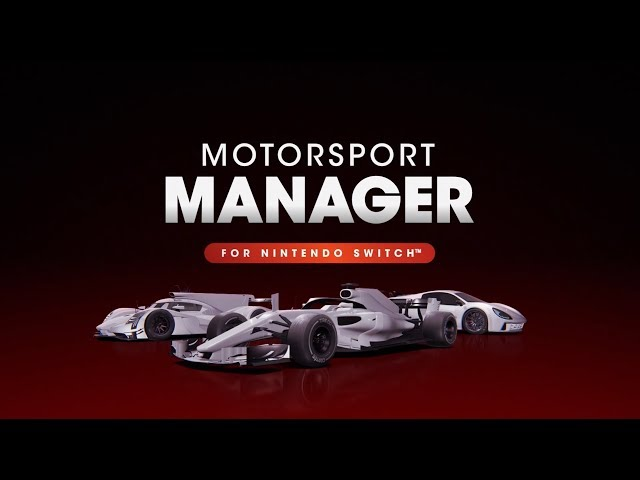 Motorsport Manager for Nintendo Switch - Official Announcement Trailer