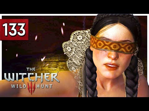 Let's Play The Witcher 3 Blind Part 133 - Blindingly Obvious / Great Escape - Wild Hunt PC Gameplay