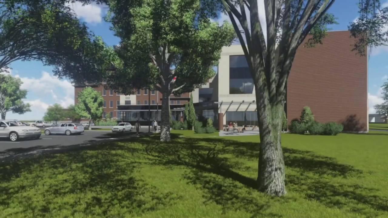 Présentation spéciale-  cohabitation entre le CCNB, campus de la Péninsule acadienne et l'UMCS