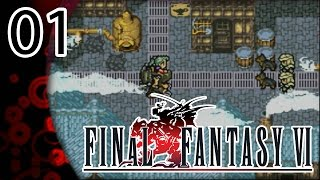AN ICY RECEPTION!!   Final Fantasy VI Advance (Blind)  Episode 1