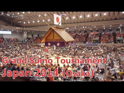 Grand Sumo Tournament - Osaka (Japan 2014)