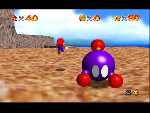 Super Mario 64 (and DS) : Course 12 - Tall, Tall Mountain