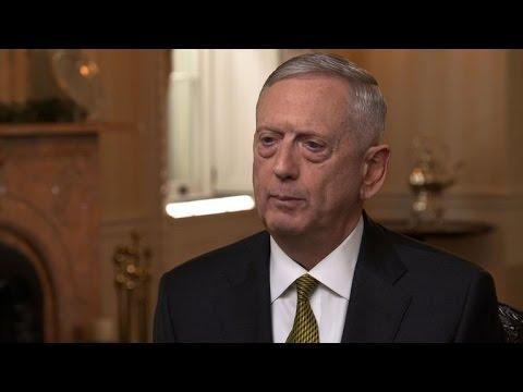 "Sec. James Mattis says U.S. ""accelerating the tempo"" of war on terror"