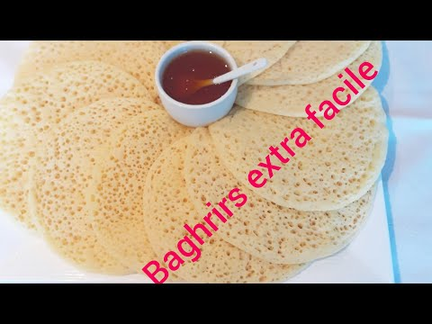 baghrirs,-crêpes-mille-trous,-أسهل-بغرير-ناجح-100%