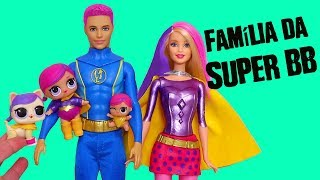 Bonecas LOL Surpresa Família da Super BB e Figurinhas de Os Incríveis 2 -Brinquedonovelinhas