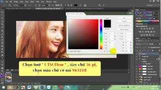 [TUT #2] Hướng dẫn design cover facebook đơn giản bằng photoshop cs6 || Yoona of SNSD
