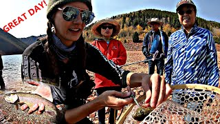 Ruedi Reservoir Rainbow Trout Fishing We Fed A Family