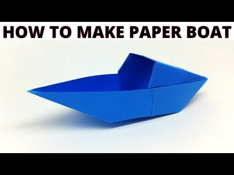 How to make paper cap boat | easy tricks for kids | Must watch