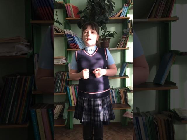 Изображение предпросмотра прочтения – УльянаАнуприенко читает произведение «Бородино» М.Ю.Лермонтова
