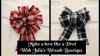 Bow Making, Easy Bows, Facebook Live Replay