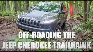 Hardcore off-roading in a stock Jeep Cherokee Trailhawk