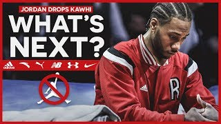 KAWHI LEONARD LEAVES JORDAN BRAND!!! Where Should He Sign Next?
