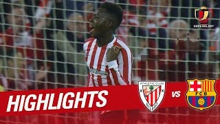 Resumen de Athletic Club vs FC Barcelona (2-1)