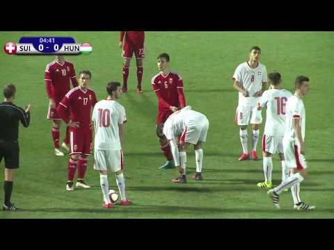 Switzerland VS Hungary 12.11.2016 /UEFA European Under-19 Championship 2016 Qualifying round/