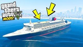 WORLDS LARGEST SHIP BREAKS GTA 5?
