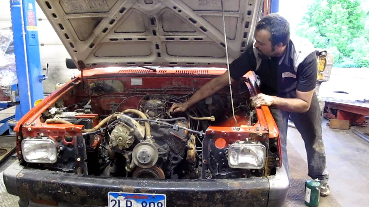 mazda b2000 v-8 swap small block chevy