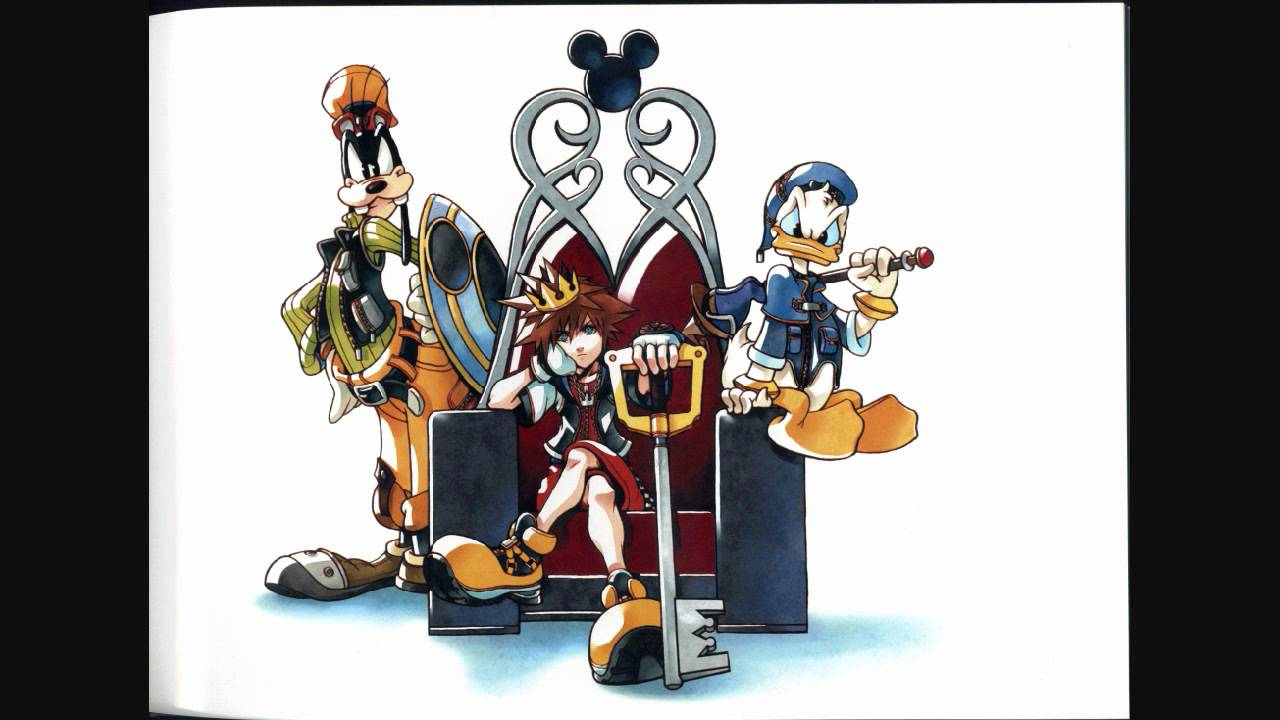 kingdom hearts battle music