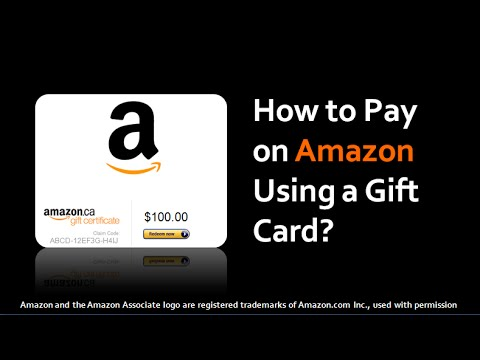 How to Pay on Amazon Using a Gift Card - YouTube