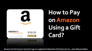 Video How to Pay on Amazon Using a Gift Card download MP3, 3GP, MP4, WEBM, AVI, FLV Juli 2018