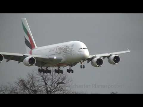 Plane Spotting At (LHR) London Heathrow Airport Part 1 On The 04/03/2017
