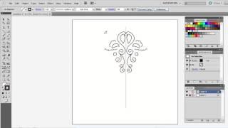 Симметричное рисование, Иллюстратор