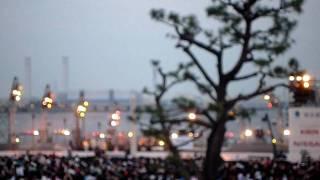 キマグレンライブです!横浜開港祭このあとはゆずもでてきたよ~