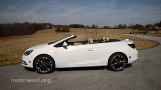 MotorWeek   Road Test: 2016 Buick Cascada