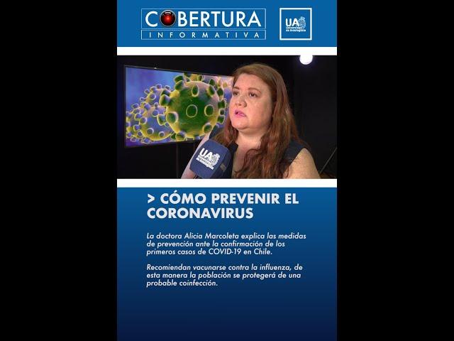 Cómo prevenir el Coronavirus.