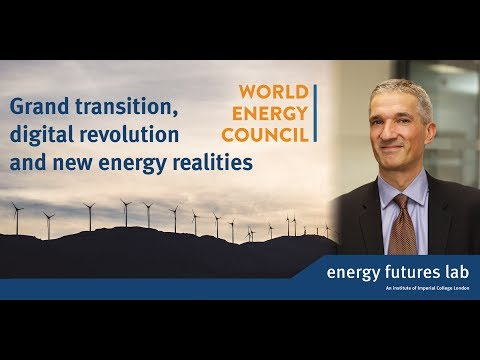 Grand transition, digital revolution and new energy realitie
