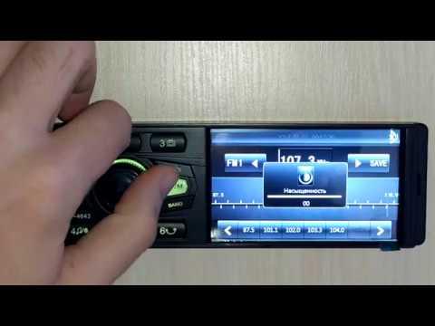 """Обзор Cyclone MP-4043: 1din-магнитола с экраном 4"""", Usb, Microsd, Bluetooth, Flac, Mp3, Aux, Mp4"""