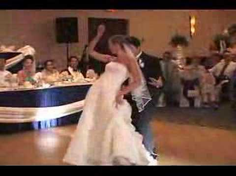 Wedding first dance w/ surprise Jack Johnson Michael Jackson Travel Video
