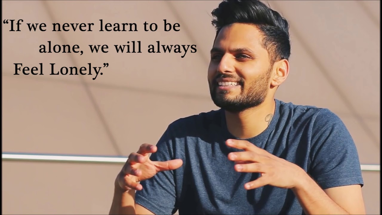 Jay Shetty Motivational Quotes On Life And Relationship