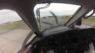 Pilatus PC-12 Landing&Shutdown (Pilot point of view)