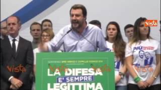 """Salvini: """"25 Aprile, vergogna lasciare fuori la Brigata Ebraica"""""""