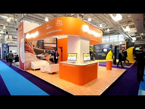 Learning Pool Exhibition Stand at Learning Technologies by Inspire Displays Ltd
