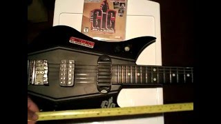 Overview and tour of the Power Gig Rise of the SixString guitar and controller