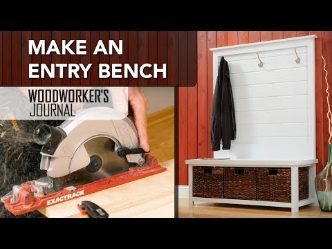 Make an Entry Bench | DIY Woodworking Project