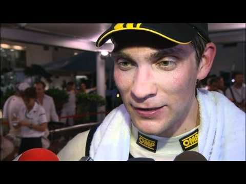 Vitalij Petrov interview in Abu Dhabi