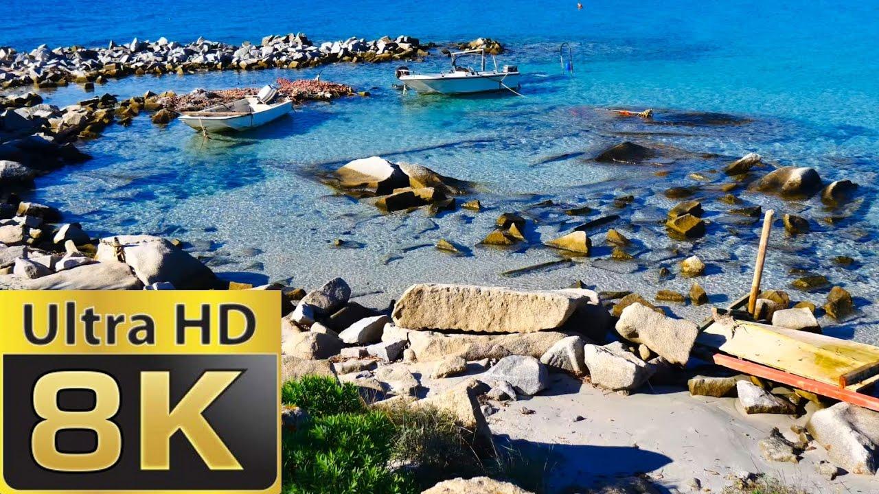 8K FUHD (full Ultra HD) (7680×4320) Sardinia Paradise