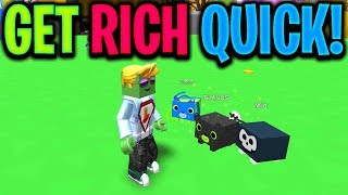 HOW TO GET RICH QUICK (Roblox Pet Ranch Simulator)
