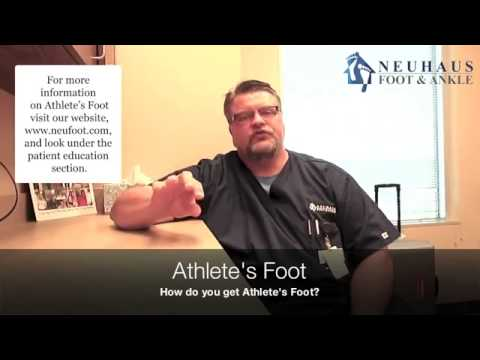 Dr. Toy Talks About Athlete's Foot