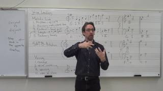 Dr. B Music Theory Lesson 11 (Voice Leading 101)