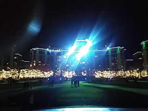 Christmas light show midtown omaha