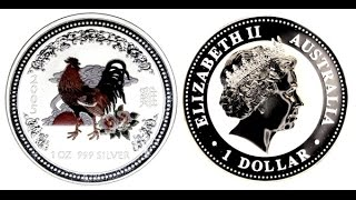 Нумизматика | Австралия 1 доллар, 2005 год. Год петуха