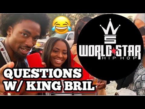 WSHH Questions with King Bril | Winston Salem State University Homecoming
